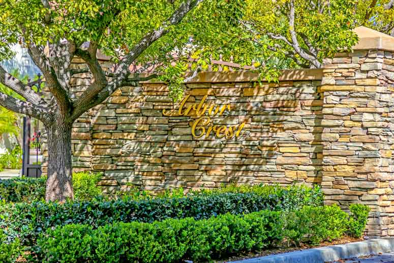 Arbor Crest Irvine Community Homes For Sale