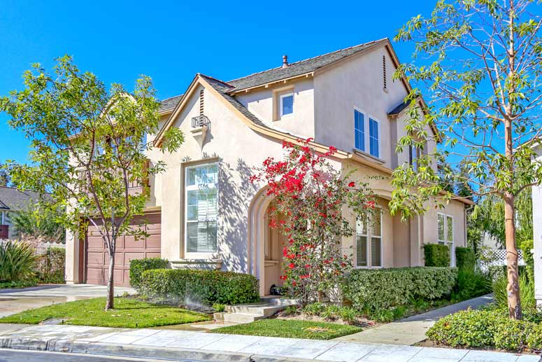 Lanes End Community Homes For Sale In Irvine, California.