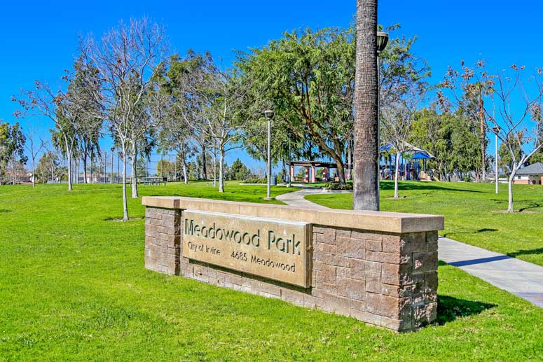 Meadowood Park in the Northwood Community in Irvine, California