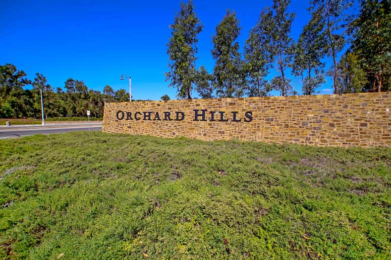 Orchard Hills Community In Irvine, California
