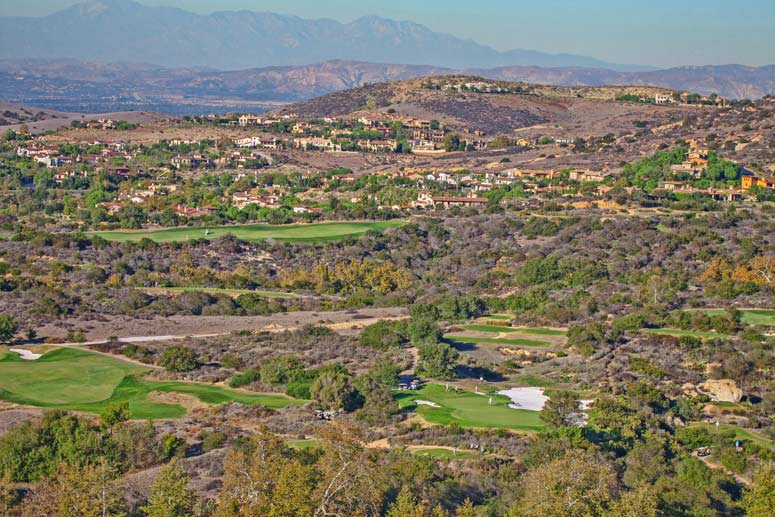 Aerial Photograph of the Shady Canyon Irvine Community
