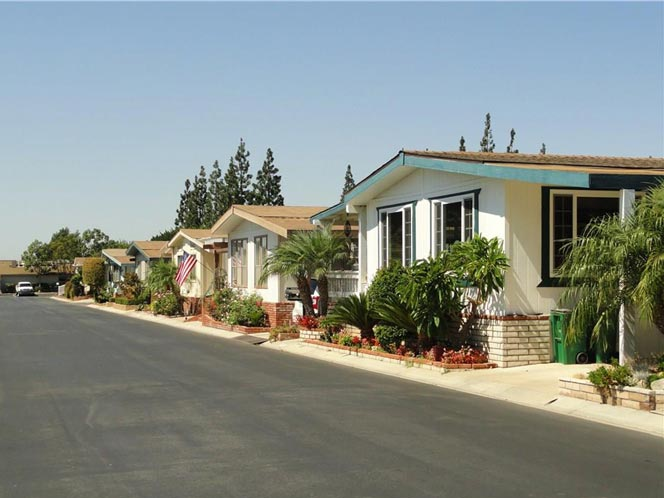 The Groves Trailer Park Homes in Irvine, California