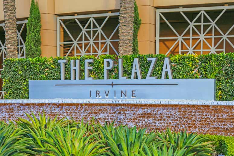 The Irvine Plaza in Irvine, Califonria