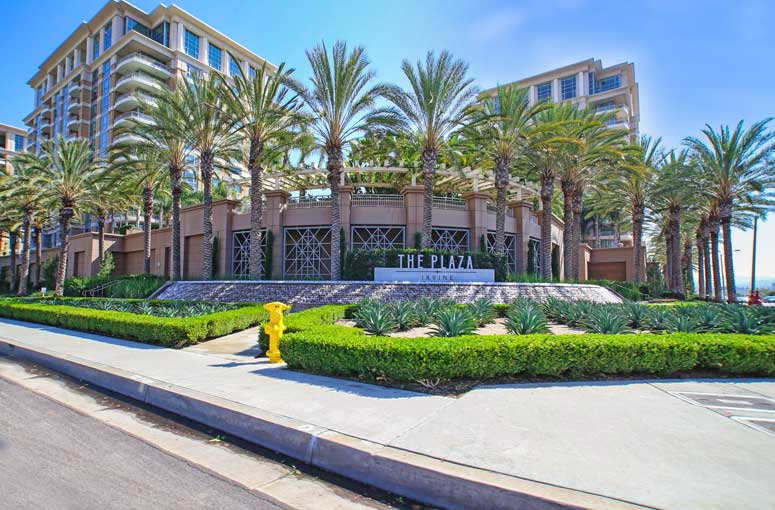Irvine Plaza Complex is Irvine, California