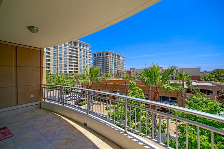 Irvin Plaza Condo Views in Irvine, California
