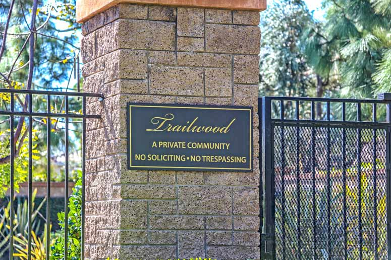 Trailwood Irvine Community Homes For Sale in Irvine, Ca