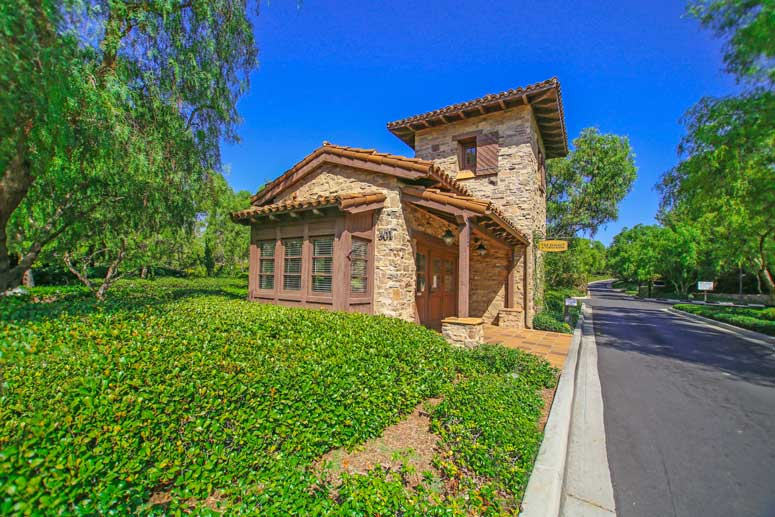 Turtle Ridge Gated Community In Irvine, California
