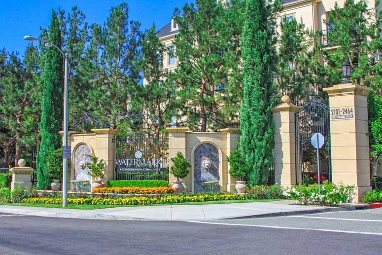 Watermarke Community Condos In Irvine, California