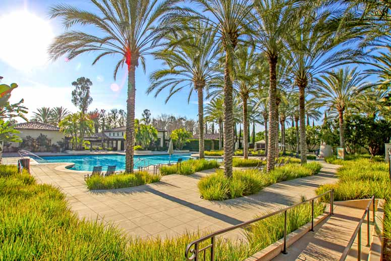 Woodbury Community Pool in Irvine, California